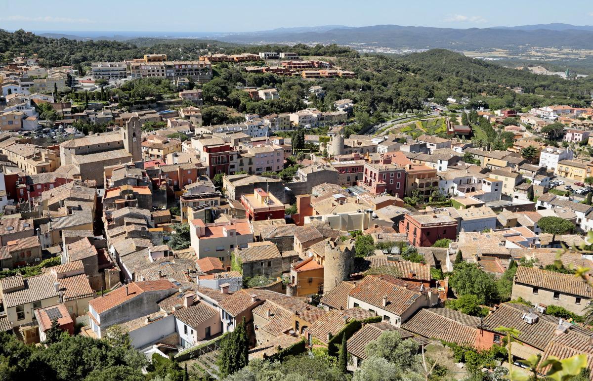 L'adorable village de Bégur