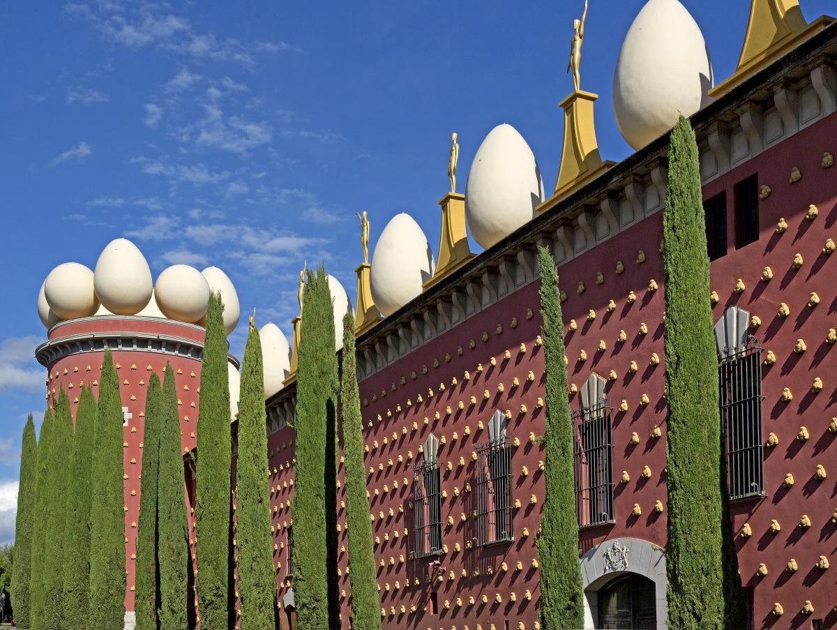 Le Musée-Théâtre de Dali s'est bâti sur les vestiges du fort