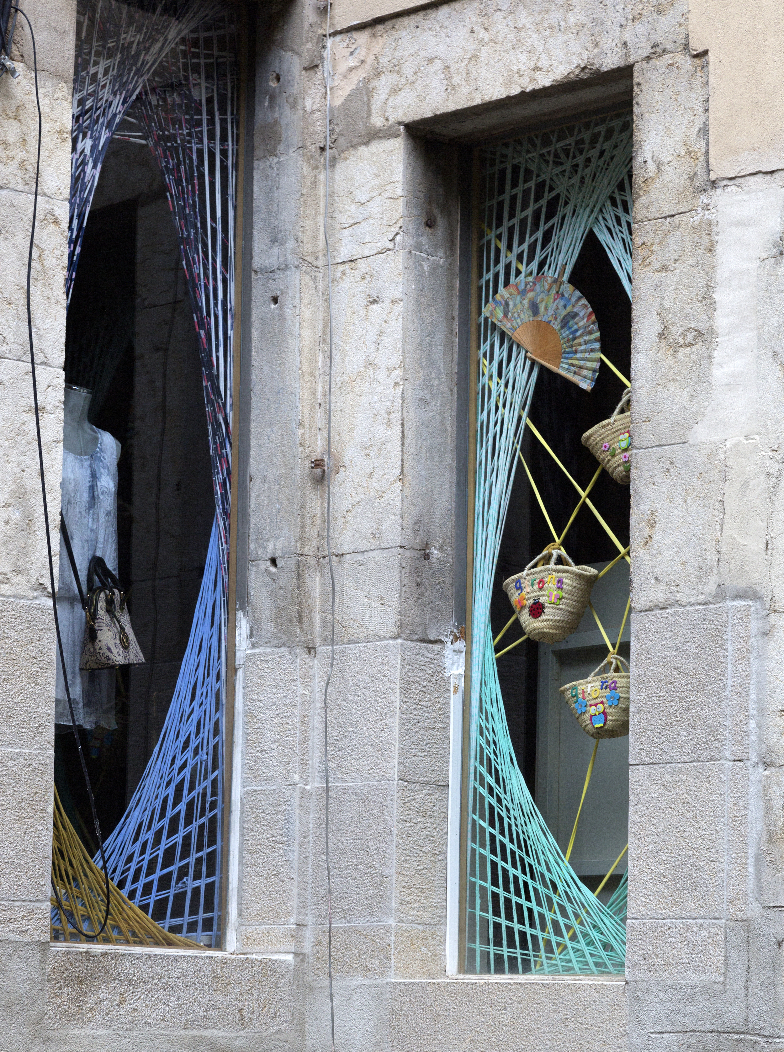A Gérone, boutique branchée dans le quartier juif