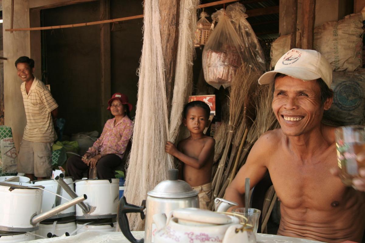 Près de Kep au Cambodge © S. Dauwe