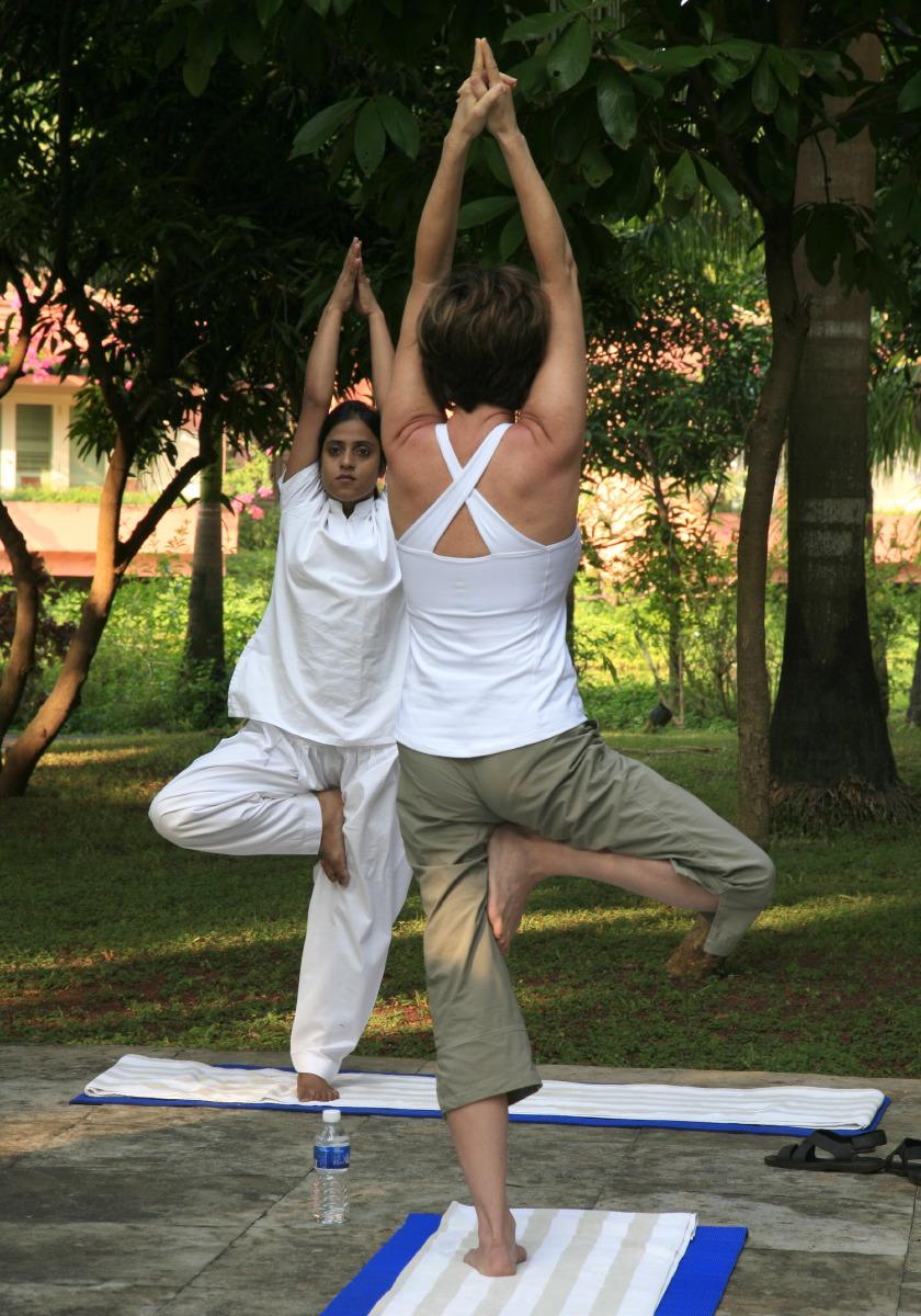 Yoga en Inde © JJ Serol