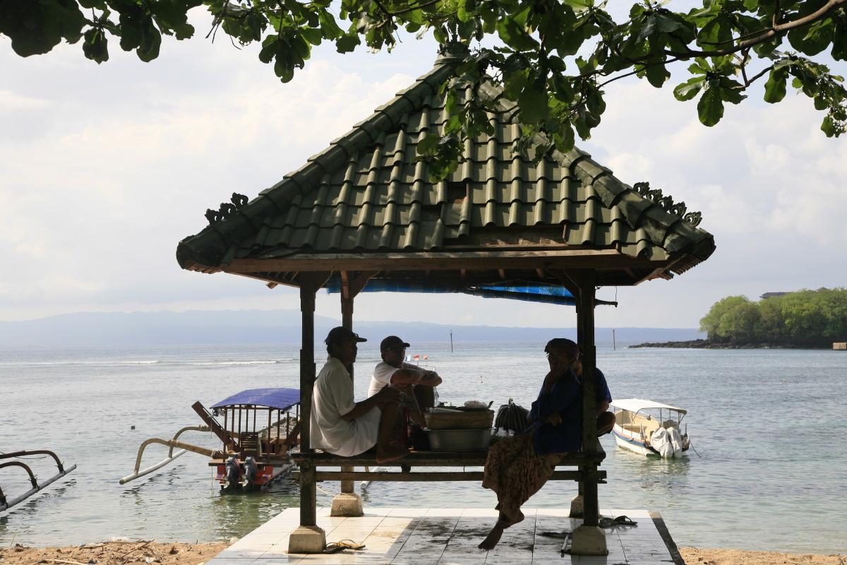 ... de l'arrière pays de Bali