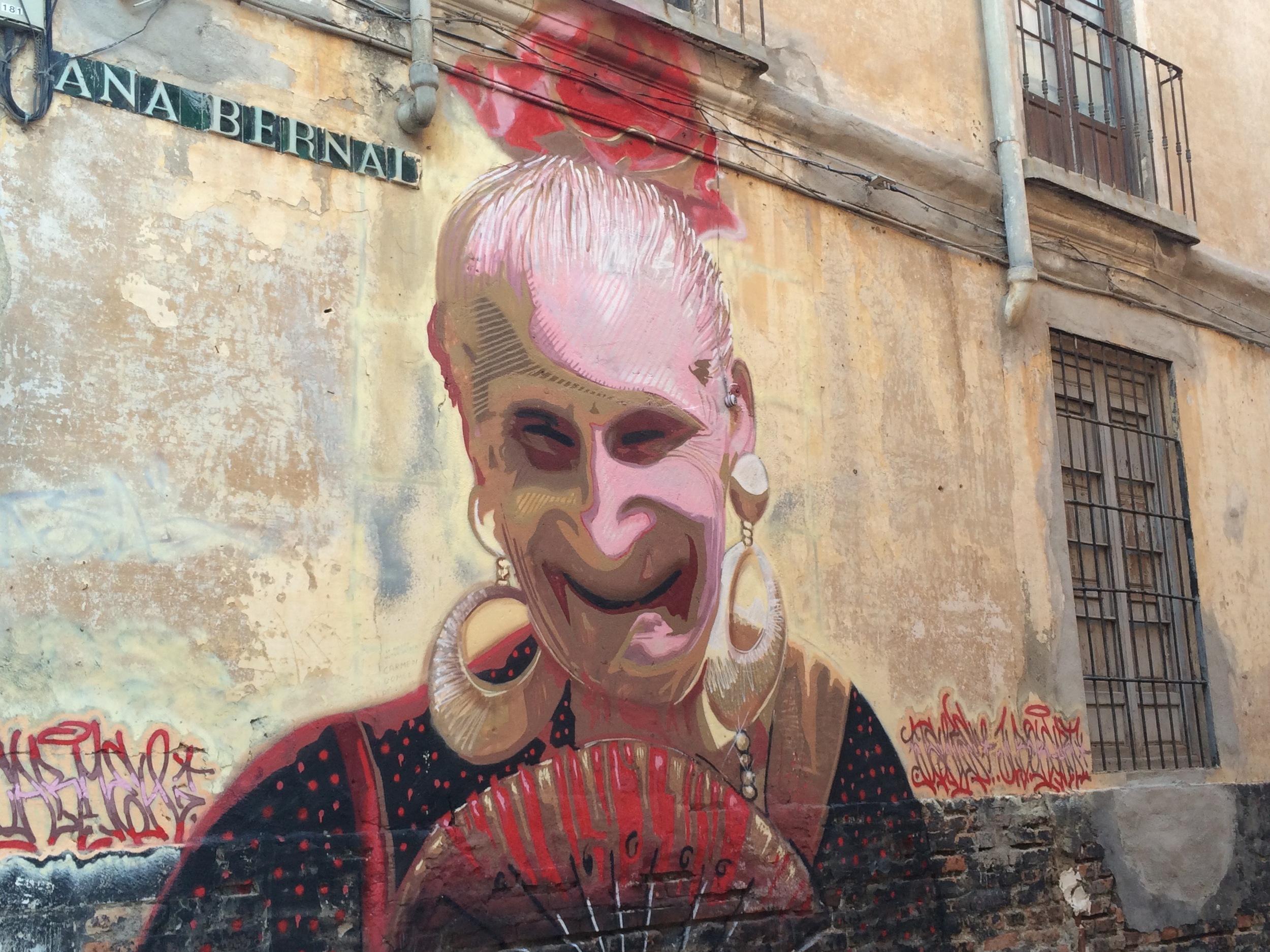 1001 peintures murales du quartier étudiant, centre de Malaga