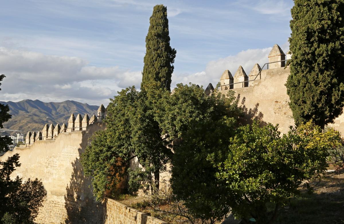Murailles de Gibralfaro et de l'Alcabaza