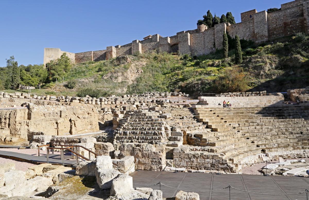 Le théâtre romain de Malaga