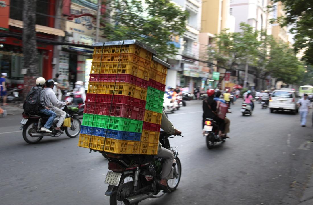 Dans les rues de Cholon, HCMV