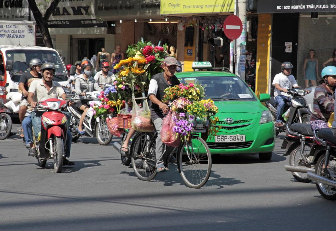 Trafic en fleurs, HCMV