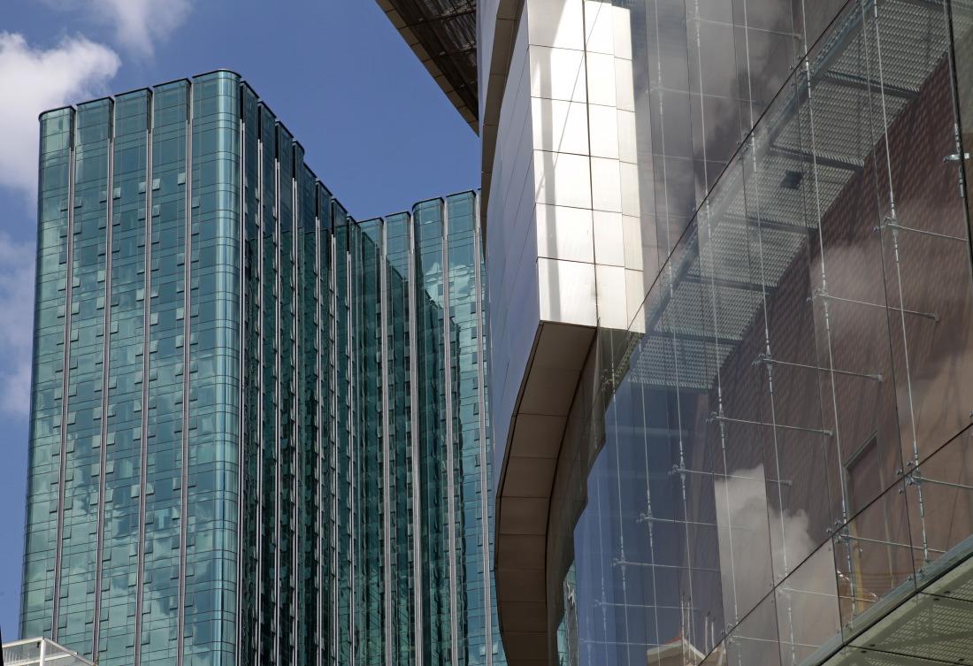 Jeu de miroir des gratte-ciels (Bitexo Financial tower), HCMV