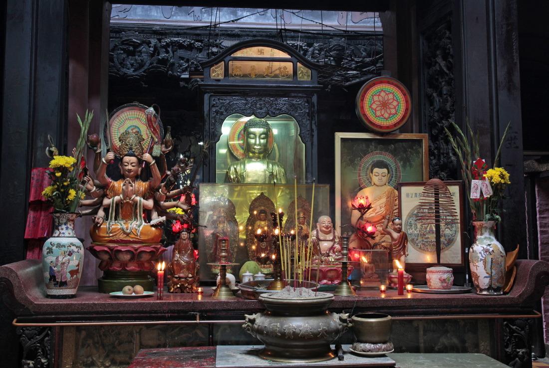 Autel au Temple de l'empereur de Jade