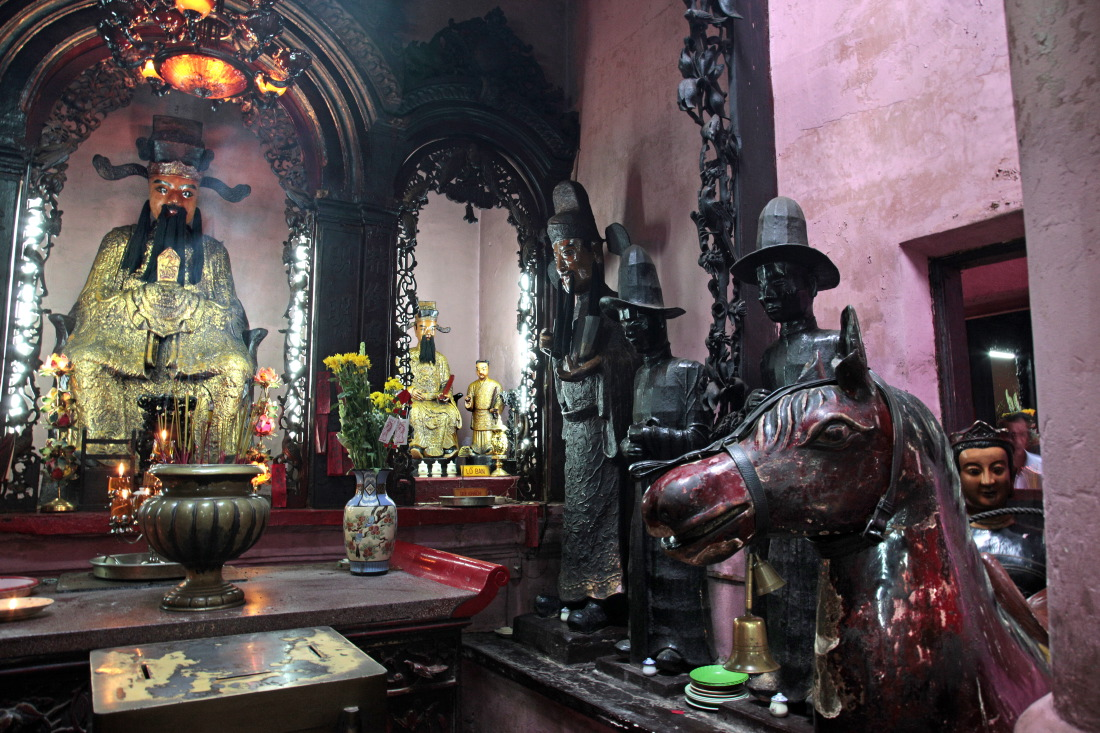 Temple de l'Empereur de Jade (taoïste & bouddhiste), 3e arr., HCMV