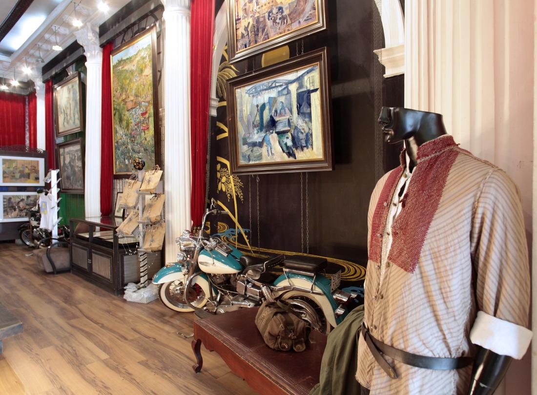 Concept store Mai Lam: vêtements, objets d'art...