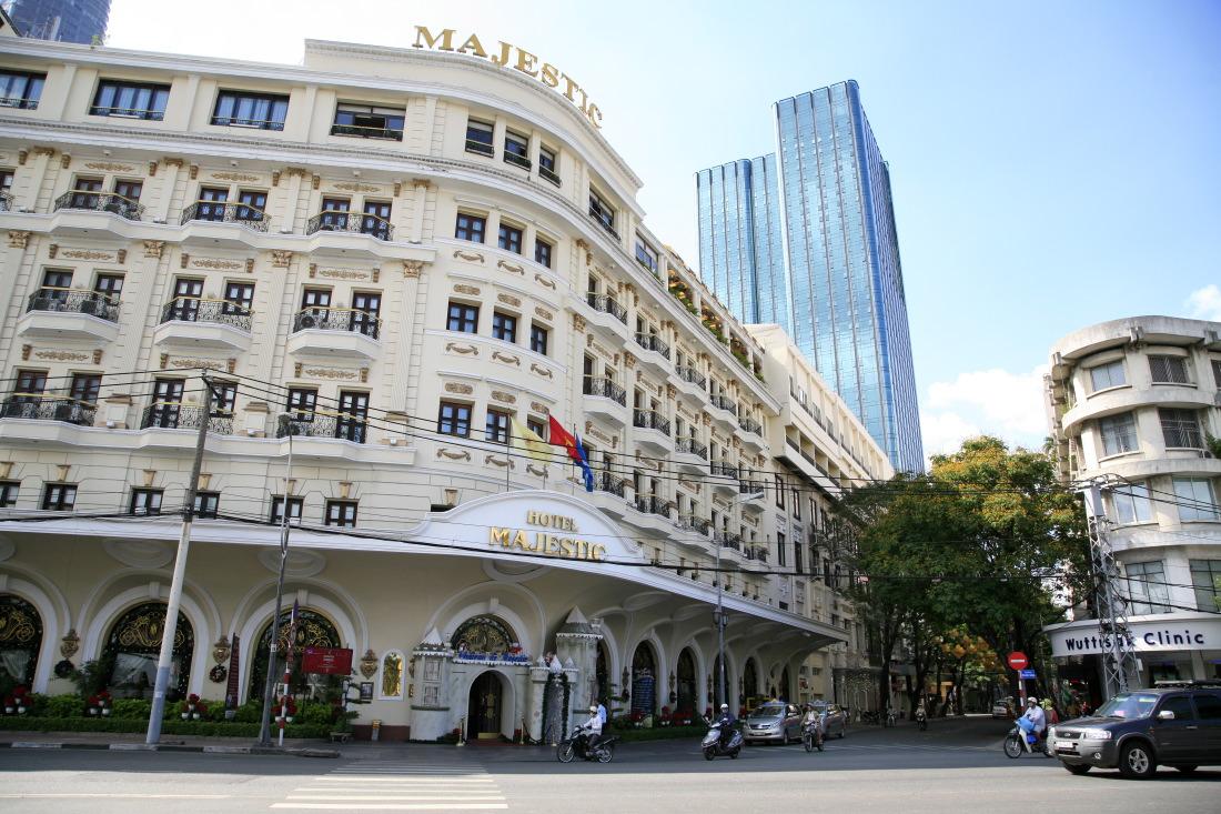 Dans le quartier chic: l'Hôtel Majectic, HCMV