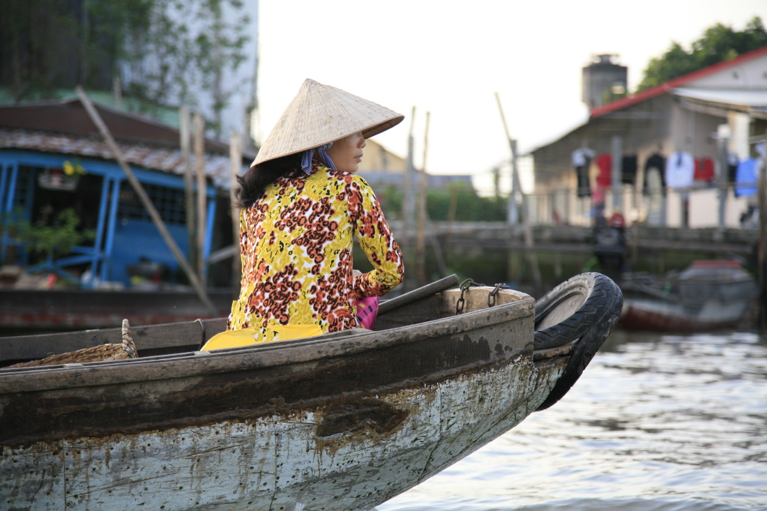 En route vers les marchés flottants de Cai Rang et Phong Dien