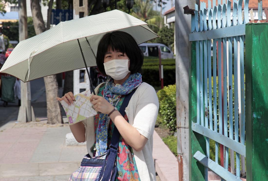 Ombrelle et pollution, HCMV