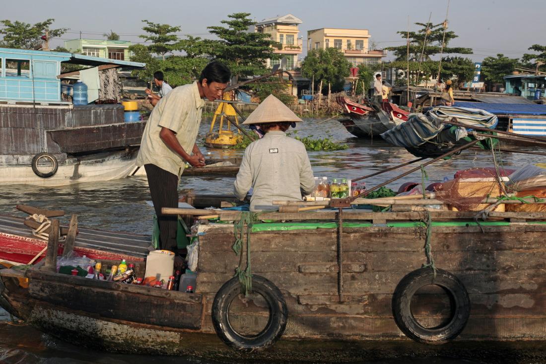 Les marchés flottants de Cai Rang et Phong Dien