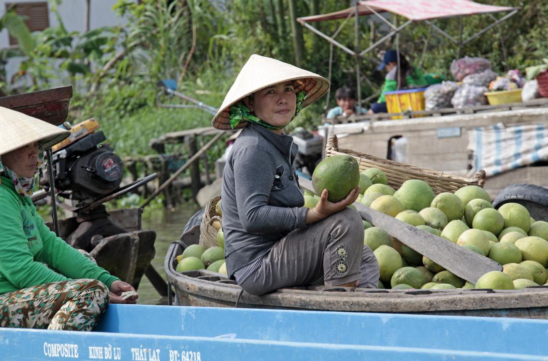 La marchande de pastèques