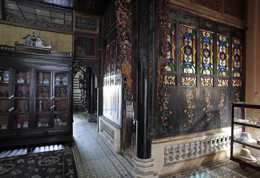 A l'intérieur de la maison de l'Amant chinois Huynh Thuy Lê