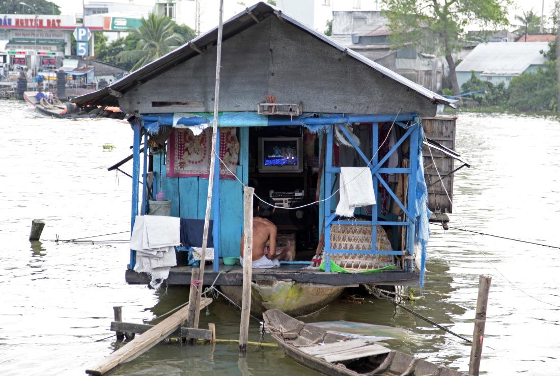 Maison flottante, SaDec