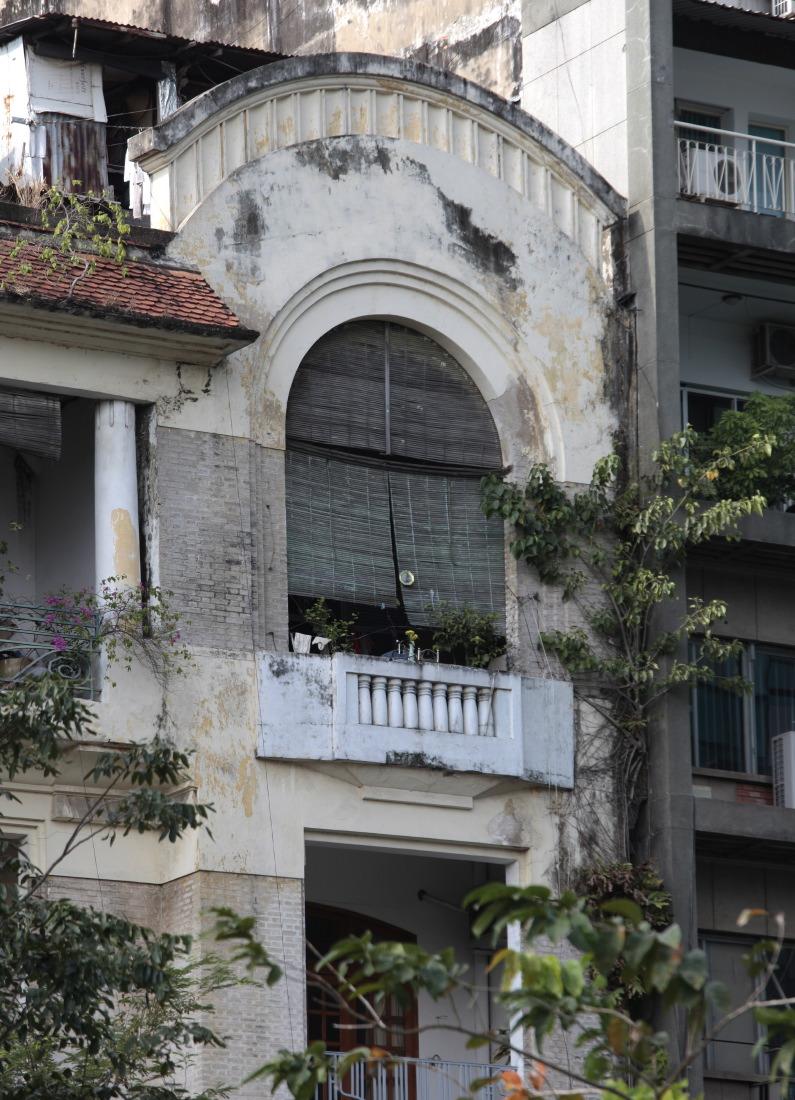 Derniers survivants de l'architecture coloniale