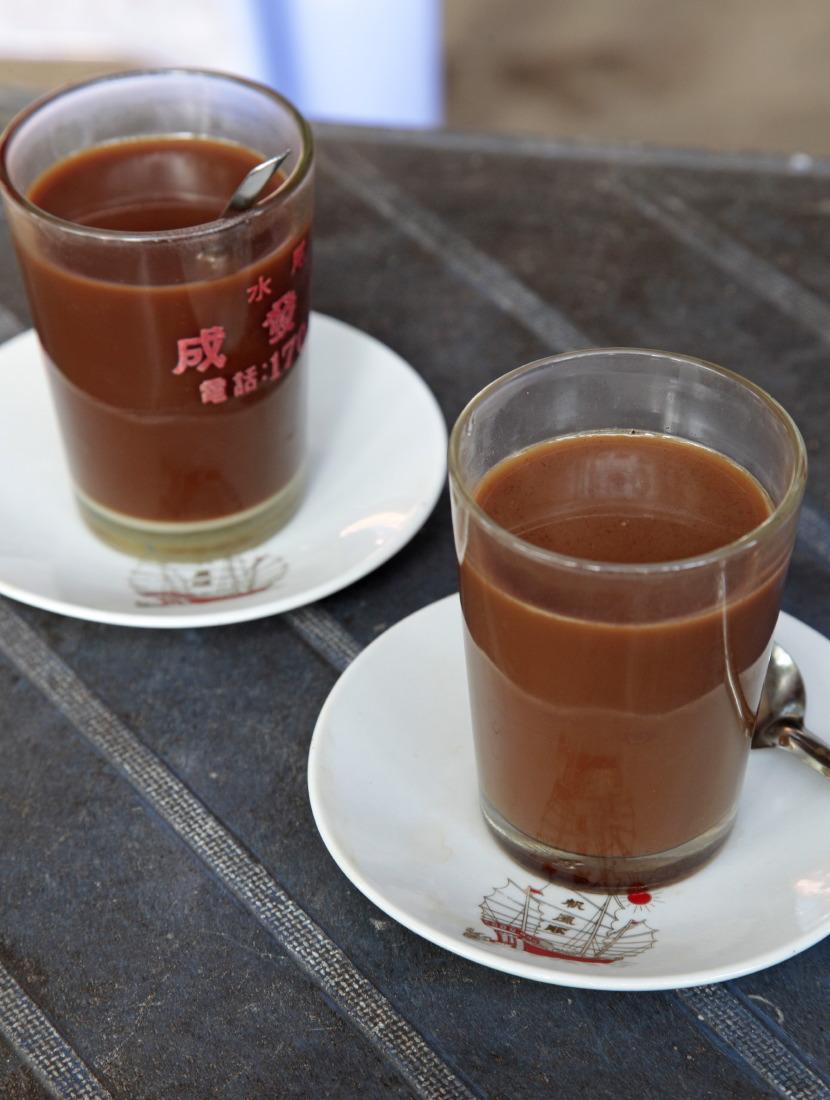 Un café au parfum fort et chocolaté
