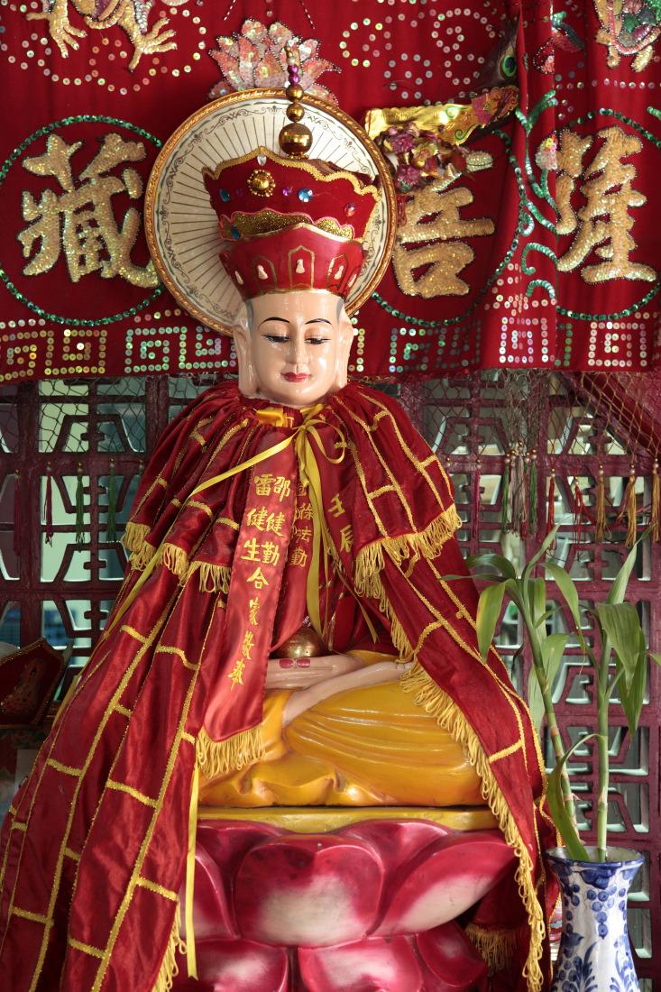 Autel à la pagode Ha Chuong Hoi Quan, HCMV