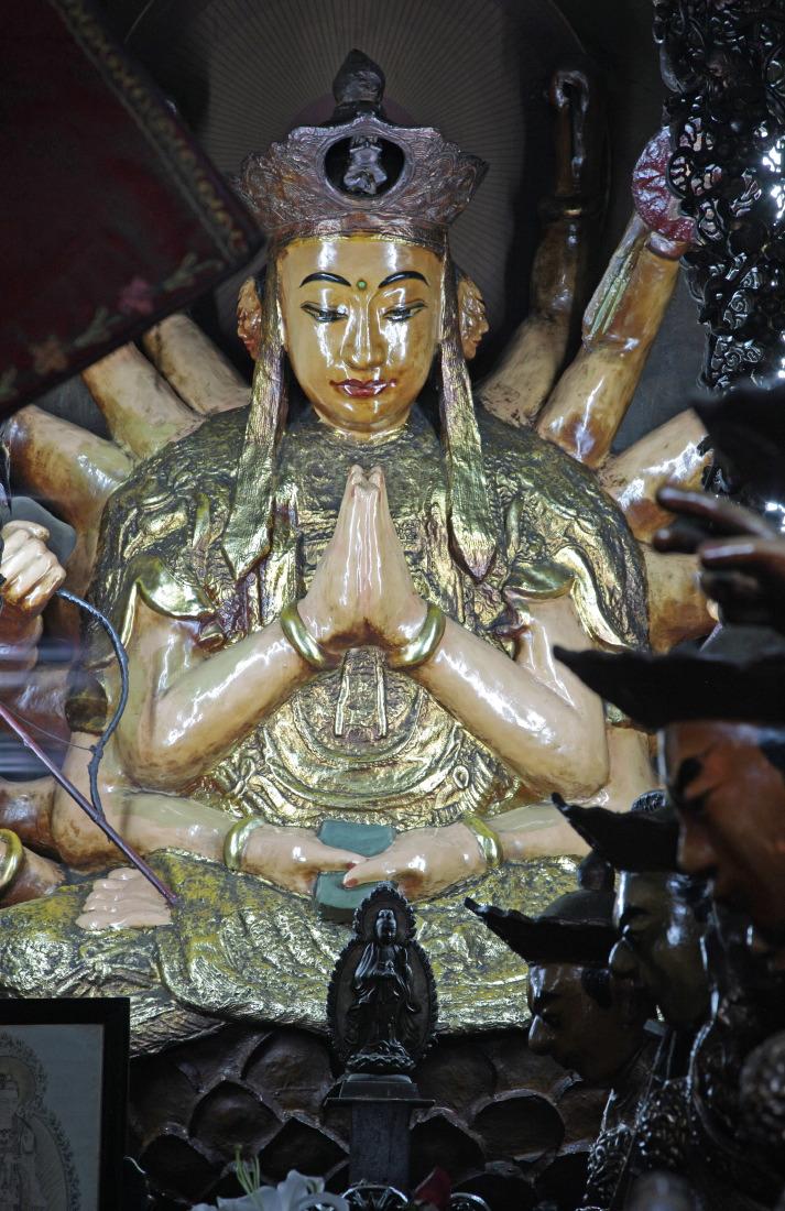 Statue au Temple de l'Empereur de Jade, HCMV