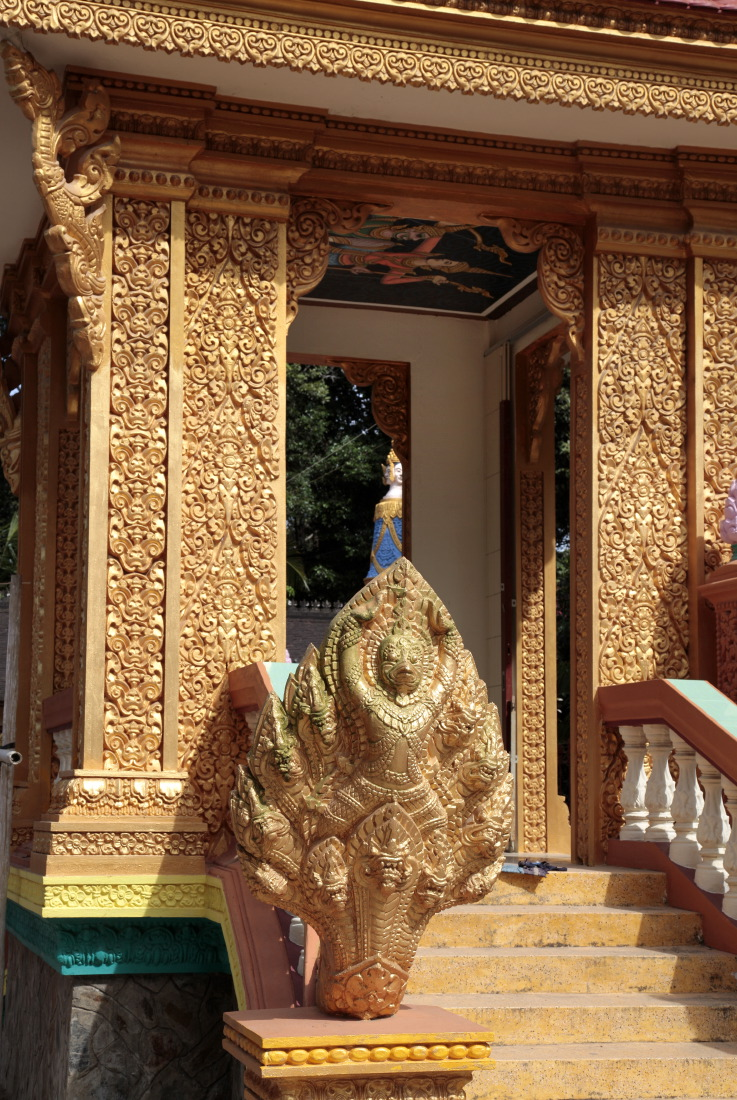 Temple bouddhiste Khmer, province de TraVinh