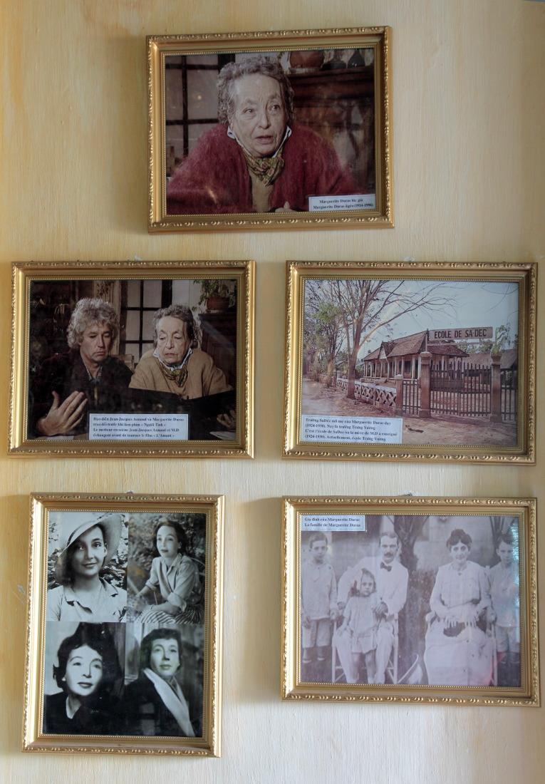 Portraits de Marguerite Duras dans la maison de l'Amant, SaDec