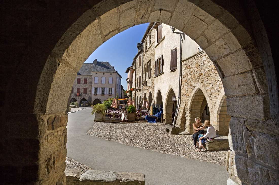 La bastide de Sauveterre de Rouergue