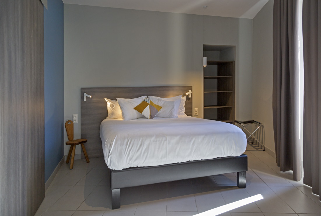 Notre chambre à l'Hôtel*** Les Fleurines à Villefranche-de-Rouergue