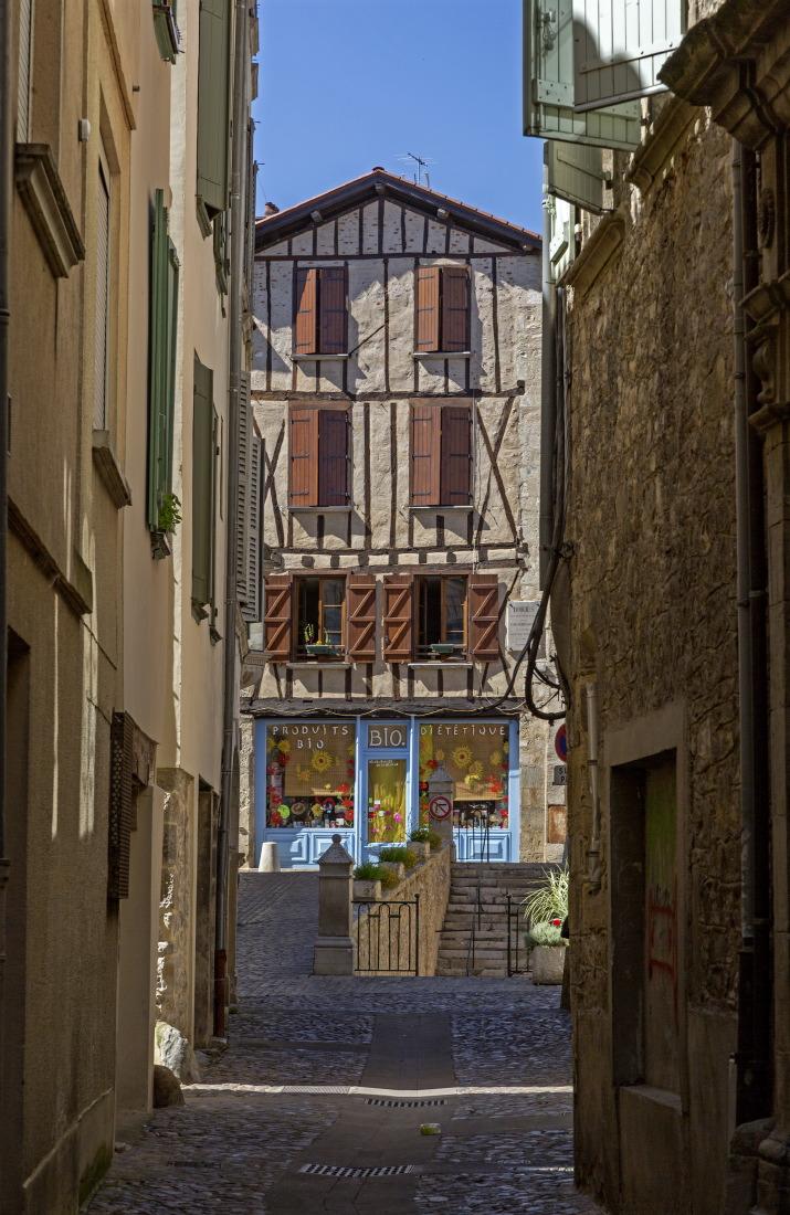 Flânerie à Villefranche de Rouergue