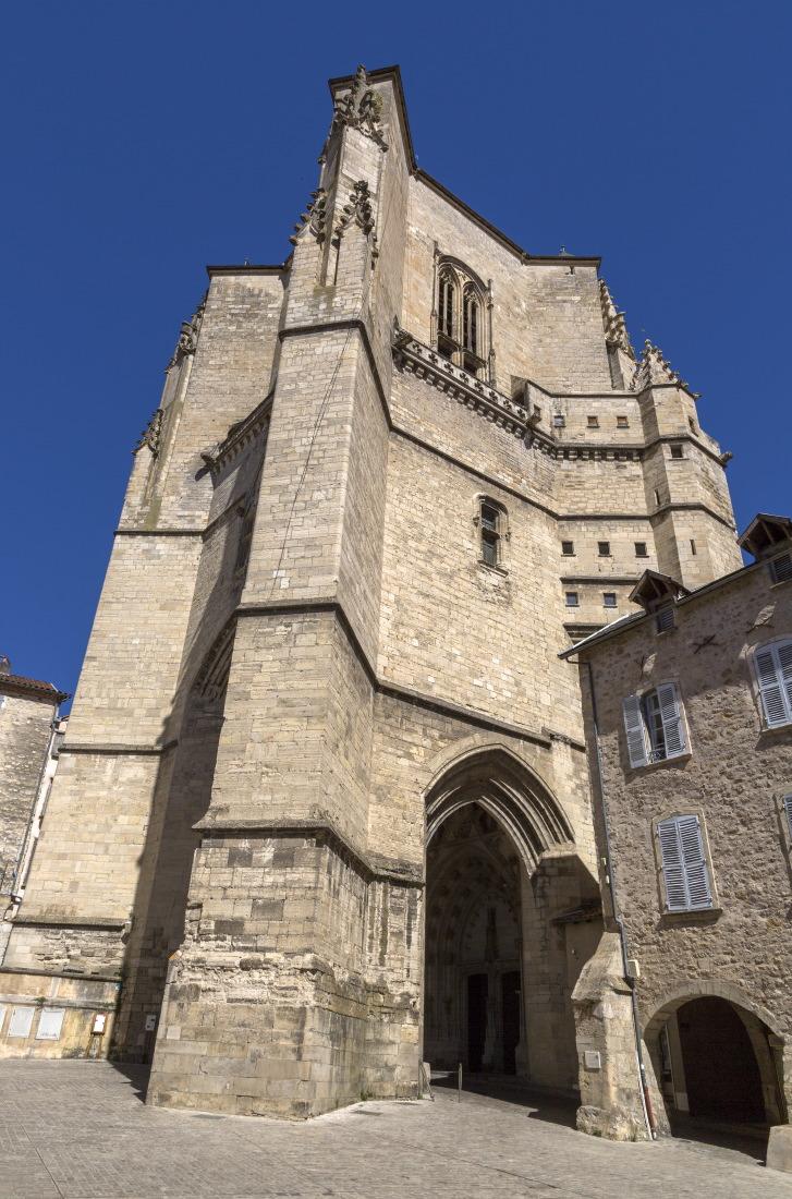 Clocher de la collégiale, Villefranche de Rouergue