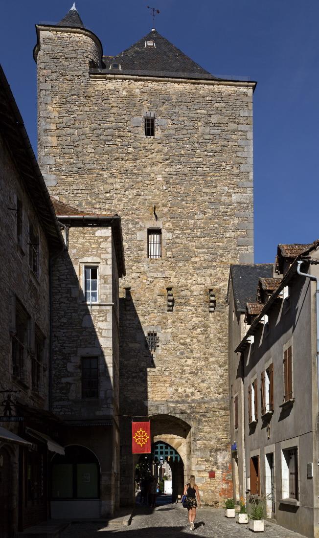 Tour médiévale de Villeneuve d'Aveyron
