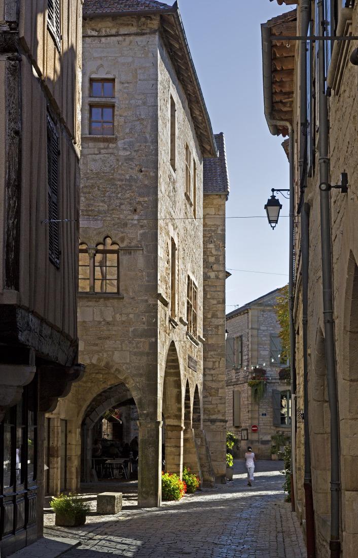 A deux pas du Musée de la Photo, Villeneuve d'Aveyron