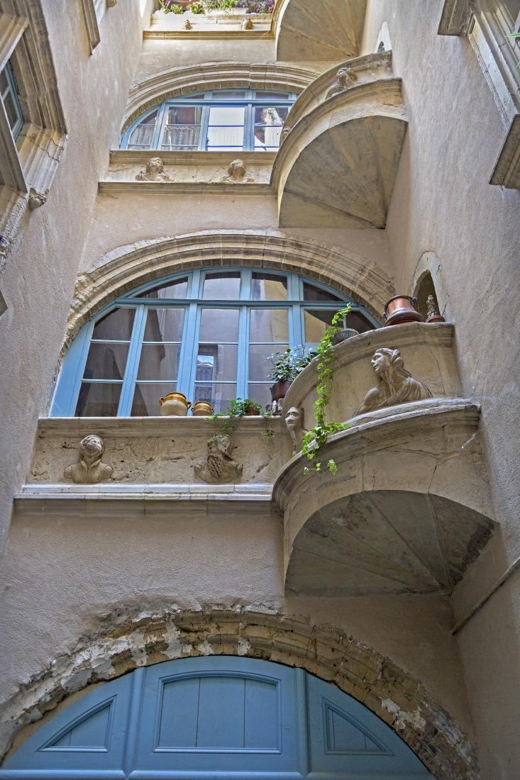 Cour Renaissance, Villefranche de Rouergue