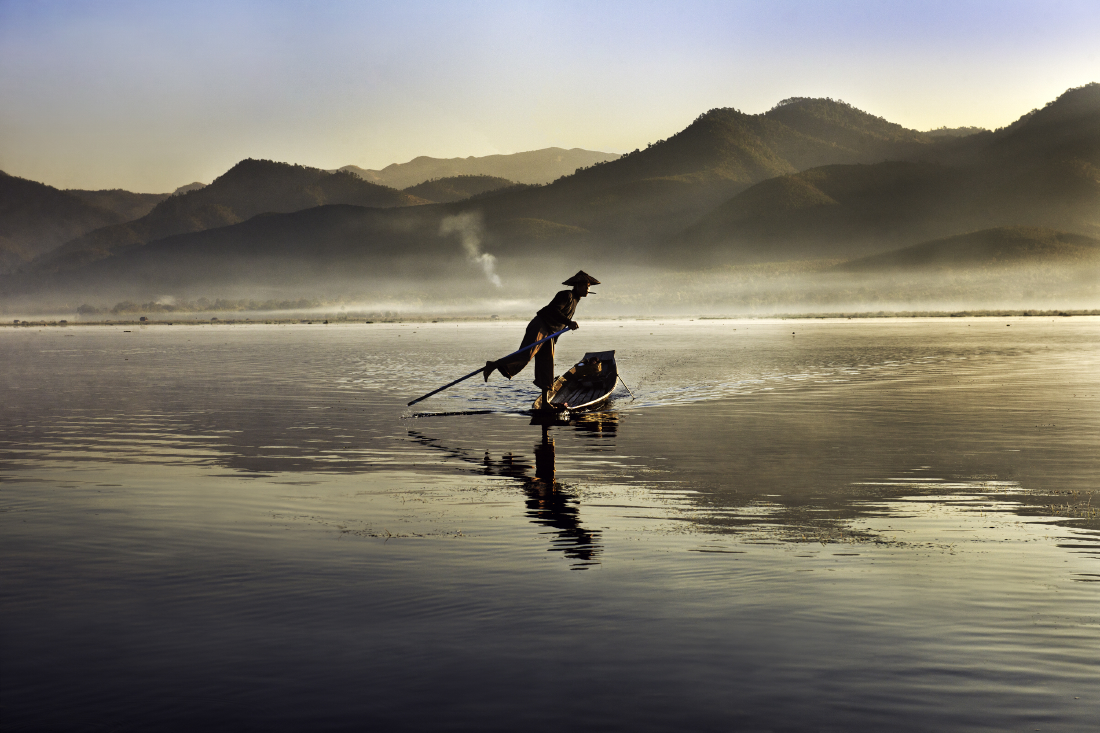 Inle Lake, Burma Myanmar, 02/2011 - © Steve McCurry