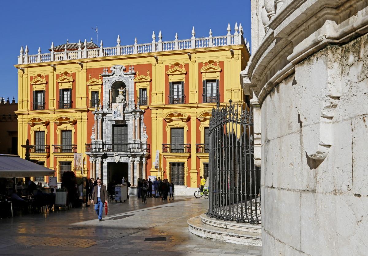 Palais épiscopal, plaza del Obispo