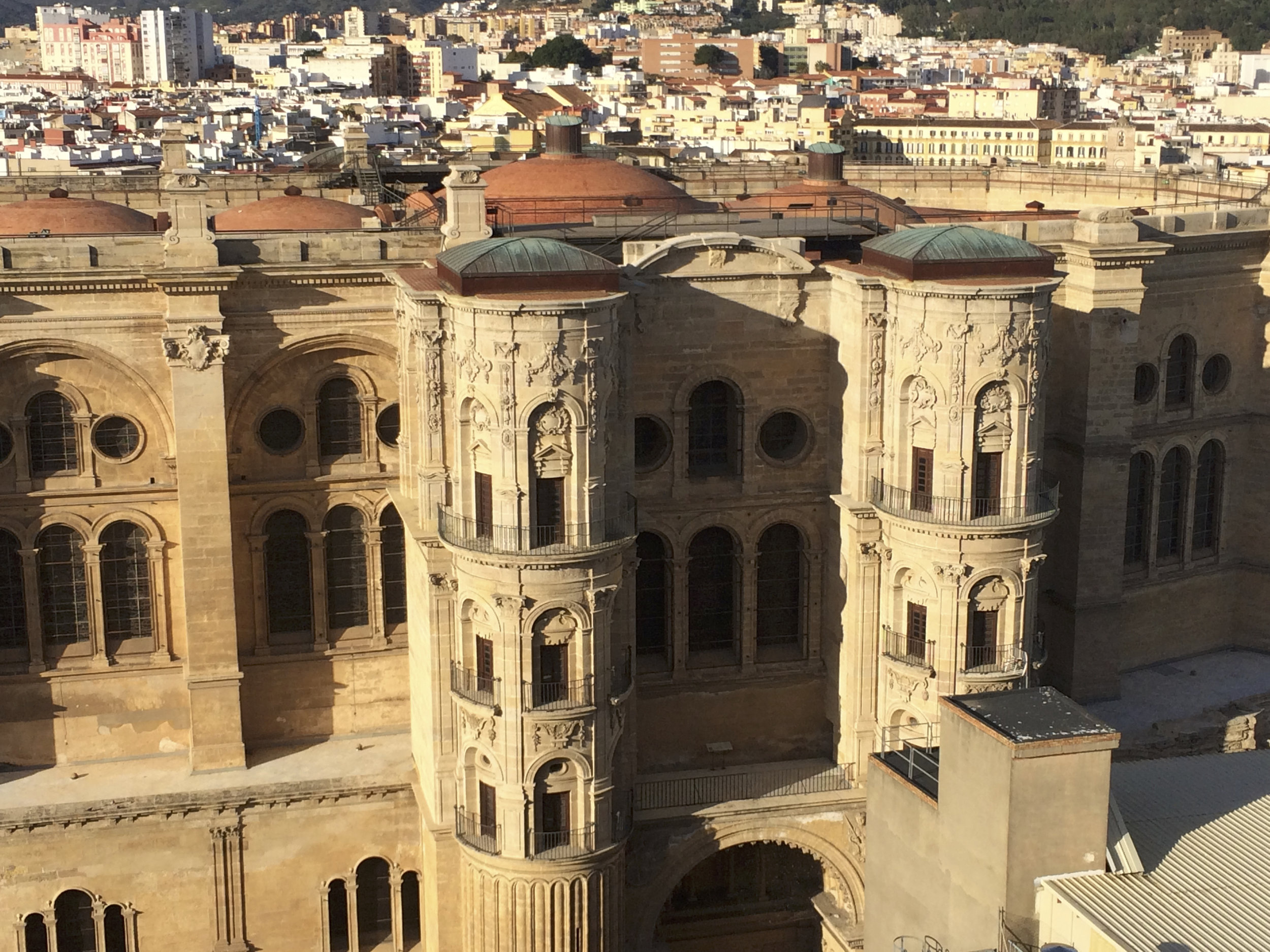 Vue de l'arrière de la cathédrale