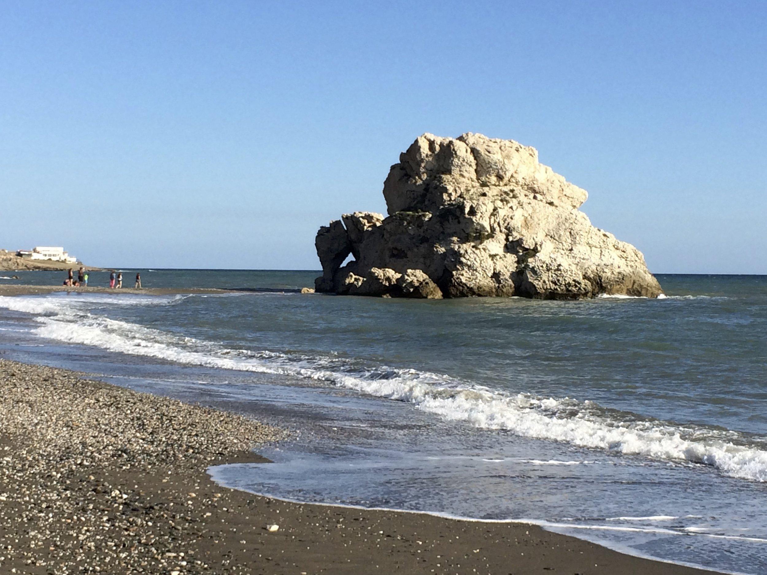 Magique, la plage secrète tout au bout d'El Palo