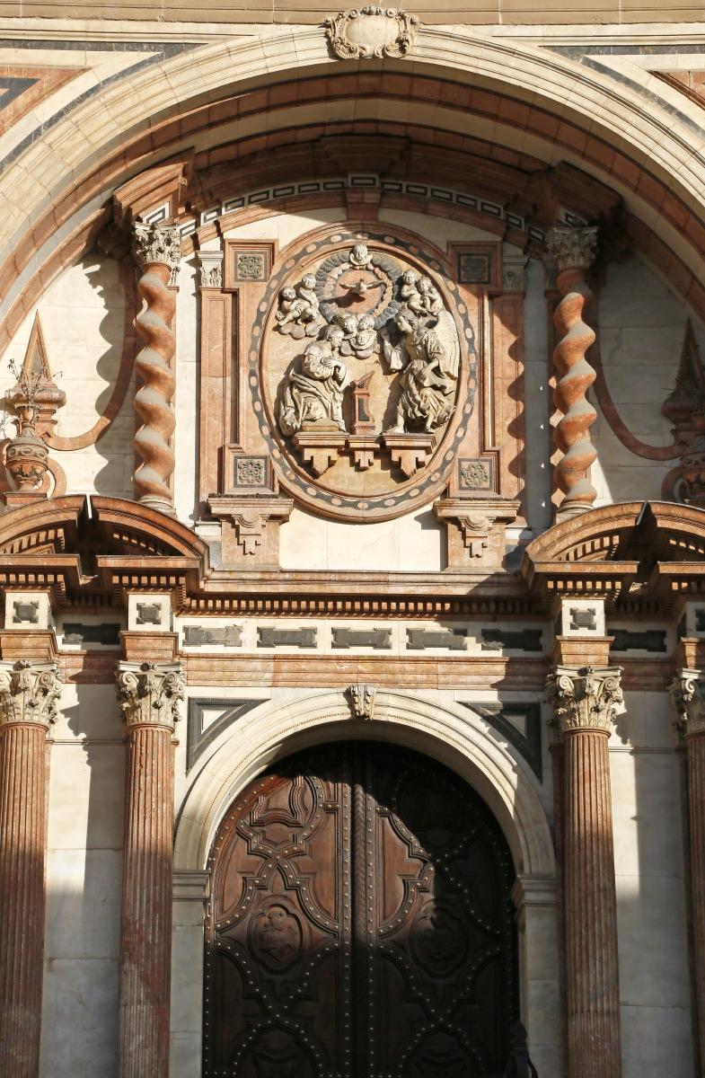 Détail, façade de la cathédrale