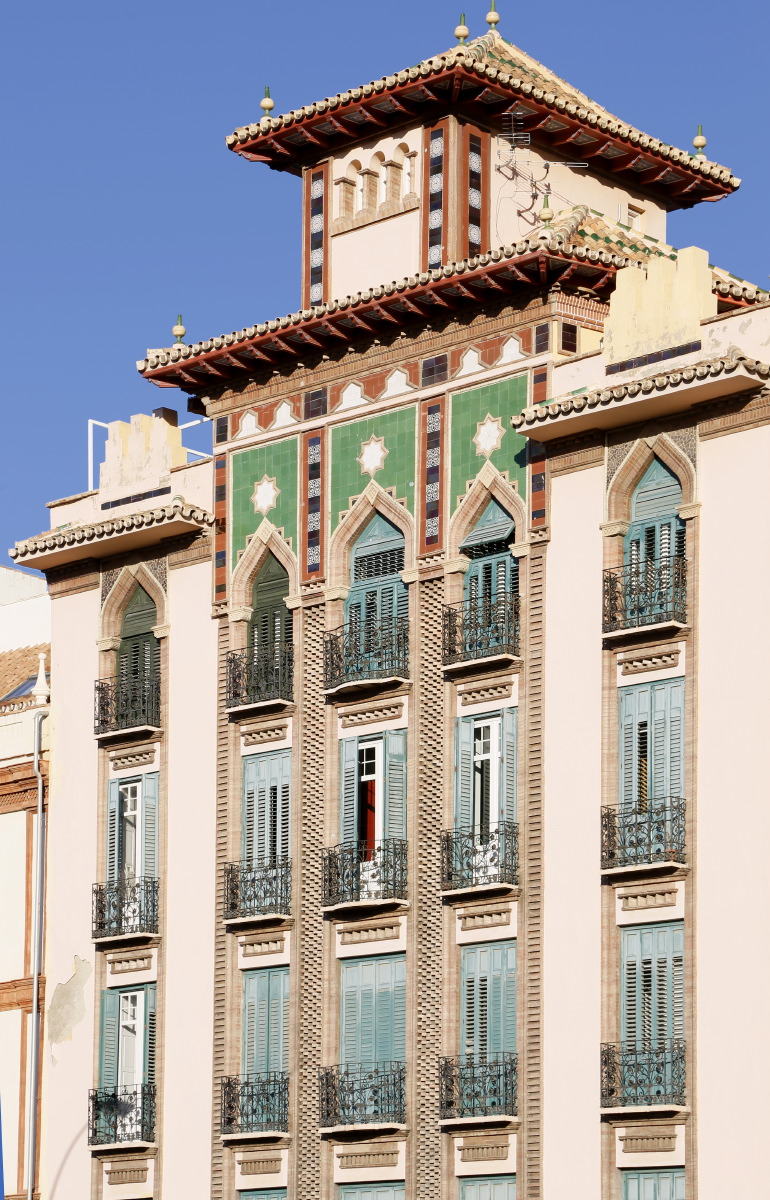 Architecture entre La Caleta et Paseo de Sancha