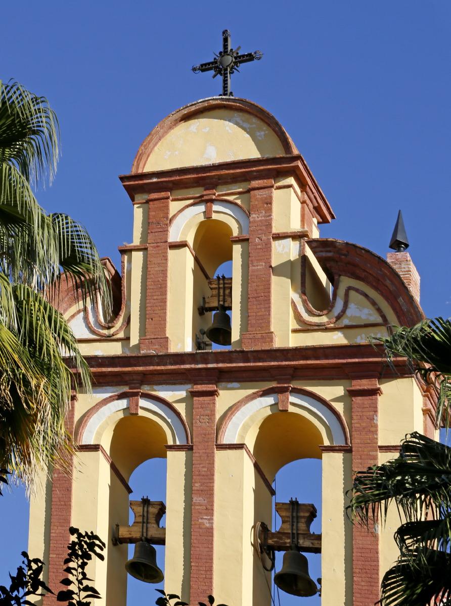 La beauté des églises sous le ciel azuré de Malaga