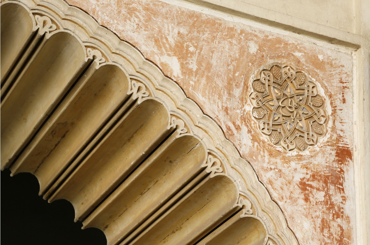 Alcazaba, détail architectural