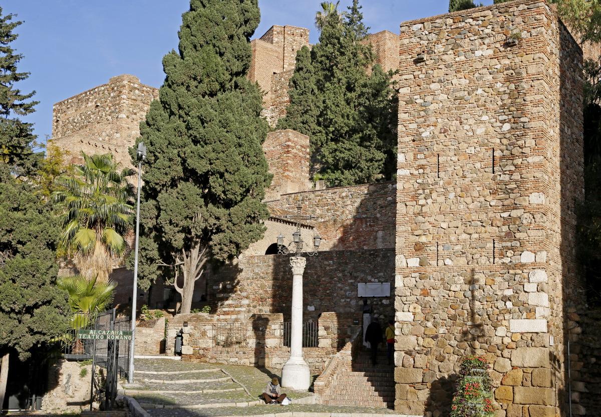 Montée vers l'Alcazaba