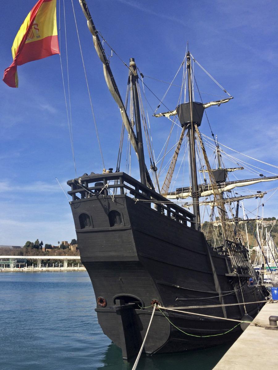 Visite de Christophe Colomb...
