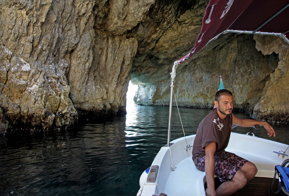 Exploration des caves marines de Tremiti