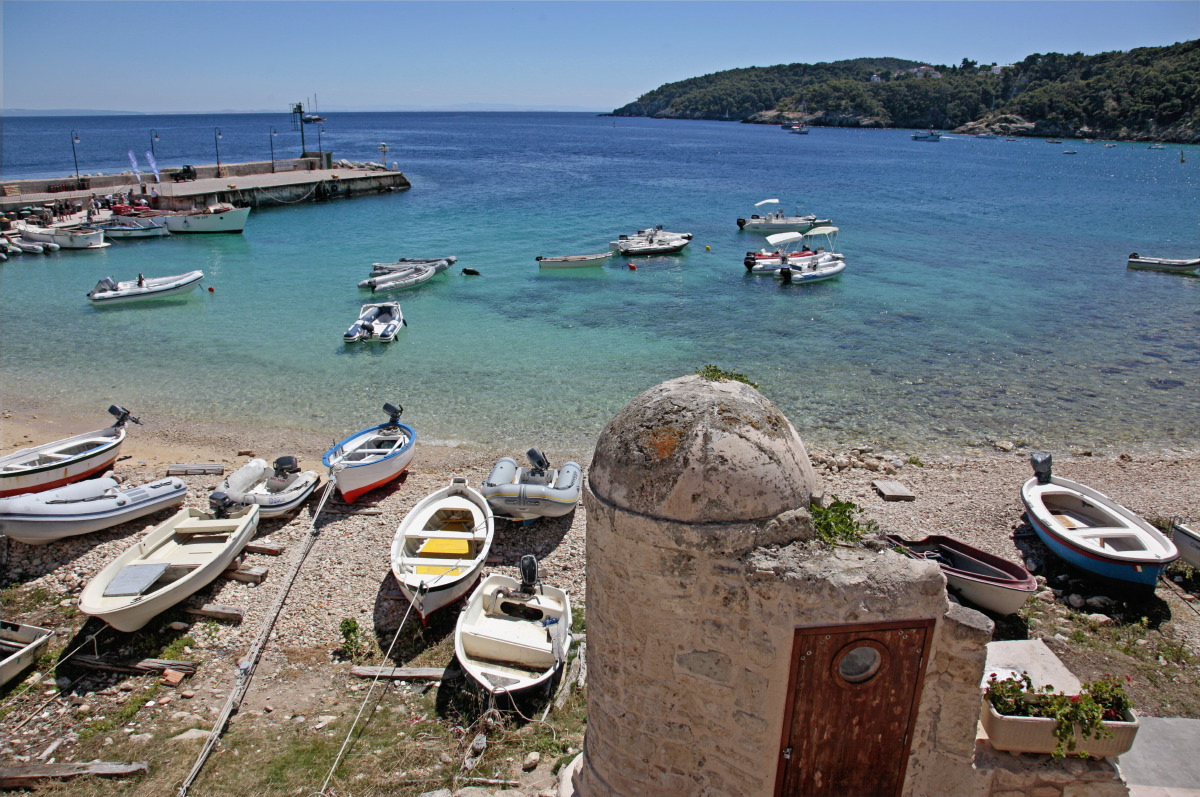 La petite marina de San Nicola, Tremiti