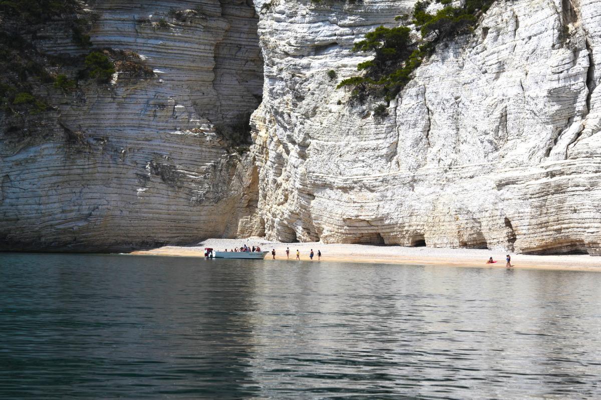 Petite plage intime du Gargano