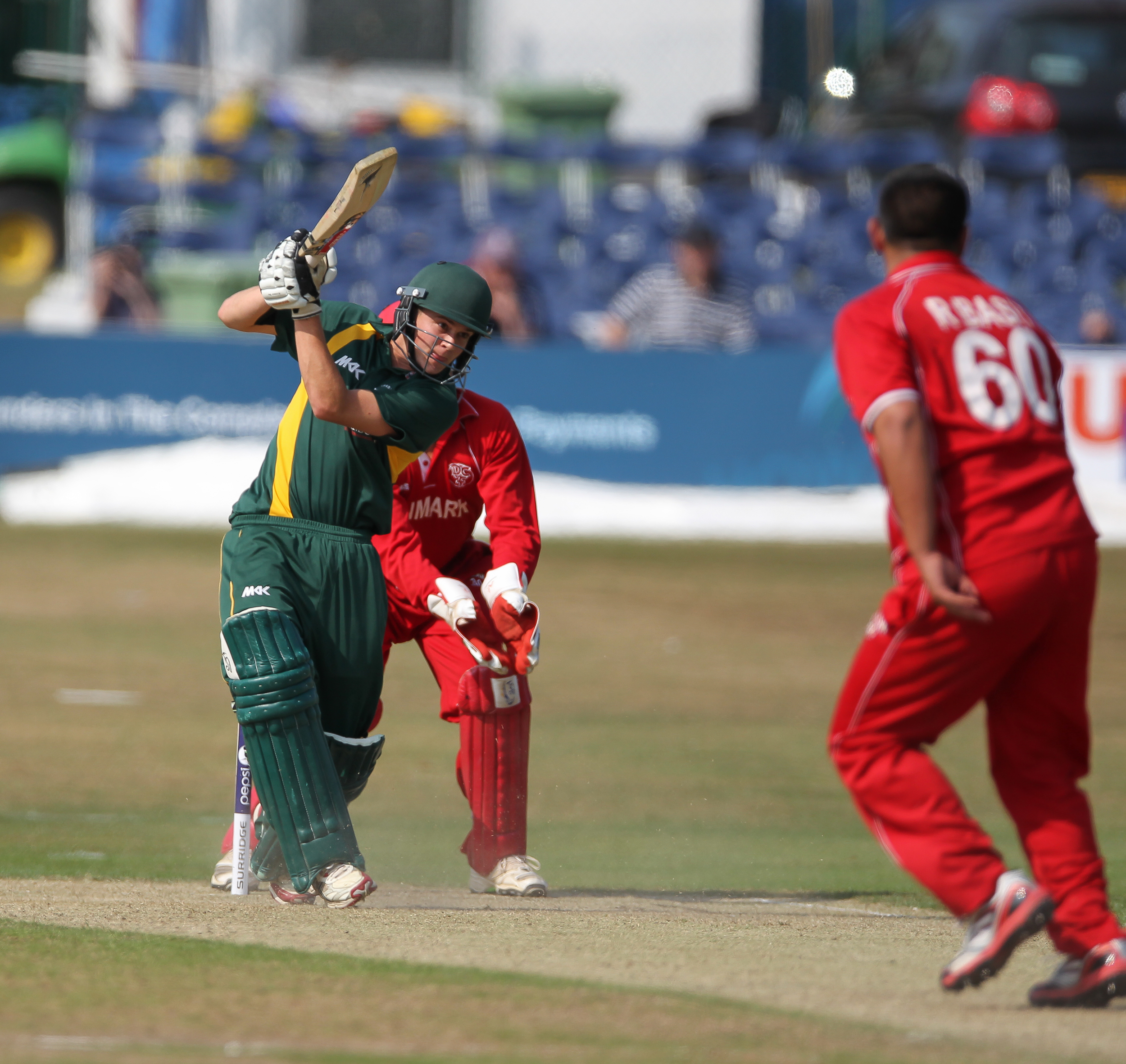 Guernsey v Denmark 2013... Venue The County Ground Hove... Date: 13th July... Result: Denmark by 113 runs.