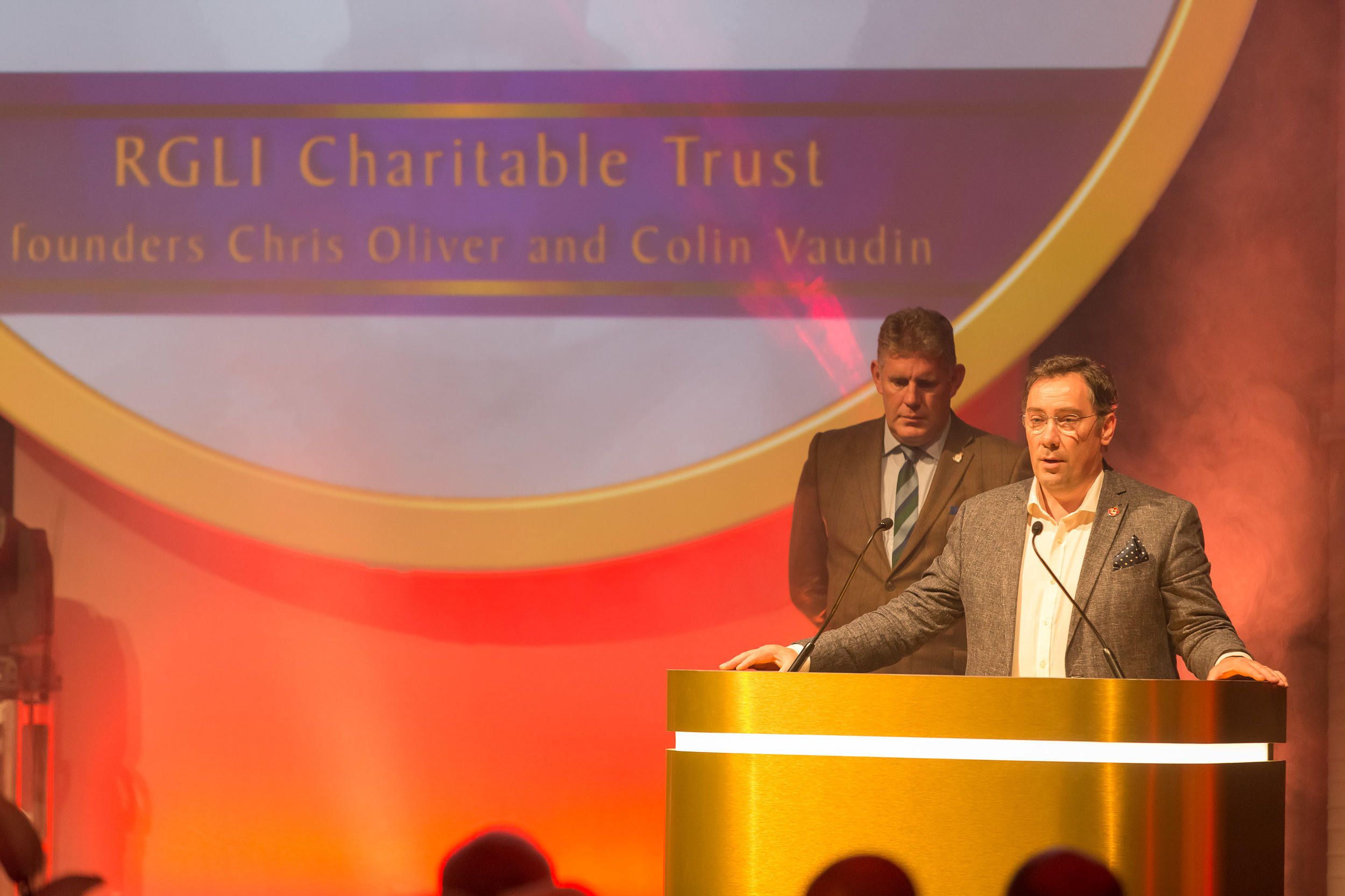 The Special Recognition Award was won by the RGLI Trust Founders Chris Oliver and Colin Vaudin